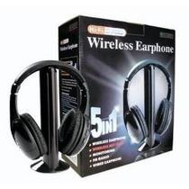 Fone De Ouvido Sem Fio 5 In 1 Mh2001 Wireless Temos E Sedex