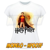 Camiseta Harry Potter Camisa Masculina Feminina Frente Verso