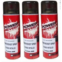 Envelopamento Liquido Power Revest Várias Cores Spray 500ml