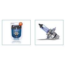 Lampada Blue Vision H4 Philips P/ Fiat Palio Farol Monofoco
