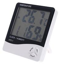Medidor De Temperatura E Umidade Relativa Do Ar E Relógio