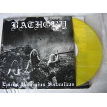 Bathory Raro Lp Burzum Mayhem Black Sabbath Motorhead Slayer