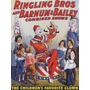 Palhaço Circo Crianças Ventriloco Poster Repro