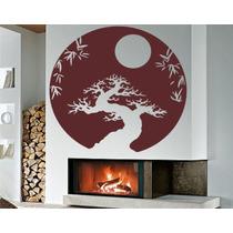 Adesivo Decorativos De Parede Árvores Galhos Bambu Natureza
