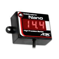 Voltímetro Digital Ajk Nano Vermelho