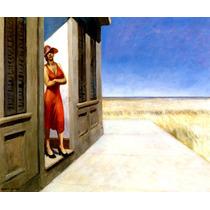 Manhã Na Carolina Do Sul Pintor Edward Hopper Tela Repro