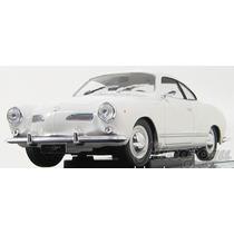Karmann Guia Goupe Volkswagen Vw 1/18 1966 Welly Promoção