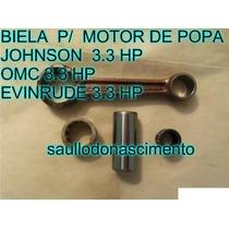 Biela Motor De Popa Johnson 3.3 Hp Evinrude 3.3 Hp Frete Grá