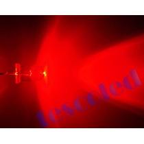 100 Led Vermelho Alto Brilho 5mm Frete Gratis
