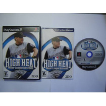 High Heat League Baseball 2004 - Play 2 Original Completo