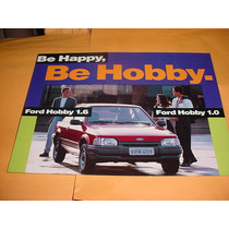 Folder Raro Ford Escort Hobby 1.0 E 1.6 93 94