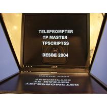 Teleprompter Tp Master Led -produto Completo -o Mais Vendido