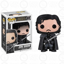 Boneco Jon Snow - Game Of Thrones - Funko Pop!
