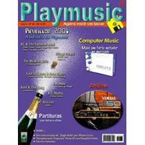 Revista Playmusic Edição Original + Midis + Ritmos Yamaha