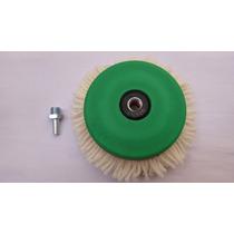 Kit Polimento Boina 5 Face Unica Velcro Disco E Adaptador