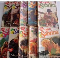 Pacote/lote Com 10 Romances Super Sabrina Florzinha