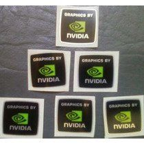 Adesivo Original Graphics By Nvidia Para Notebook Ou Desktop