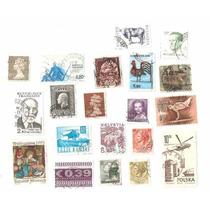 38 - Europa 20 Selos Suiça, Espanha, França, Holanda, Grecia