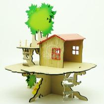 Brinquedo Madeira - Casa Na Àrvore Mod.02