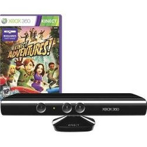 Kinect Sensor Semi Novo Do Xbox 360 Com Kinect Adventures!