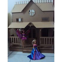 Casa De Boneca - Casinha De Bonecas - Barbie Princesas Lian