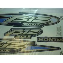 Adesivo Biz C100 Ks 05 Azul Metal, Envio Grátis, Quali 3m
