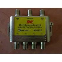 Chave Comutadora Advansat 3x4