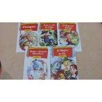 Coleção Fabulas Diversas 5 Volumes Frete Gratis