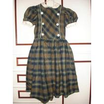 Vestido Flanela Infantil -tamanho 6 Queima De Estoque Lindo!