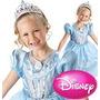 Fantasia Princesa Cinderela Cintilante Importada