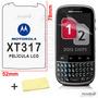 Película Protetora Tela Motorola Xt316 Xt317 + Frete Grátis