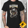 Camiseta De Banda - Asking Alexandria - Snake - Rock Club