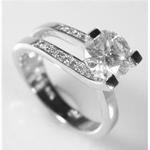Lindo Anel Solitário Em Ouro 18k! Mais Diamante De 20 Pontos