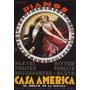 Piano Mulher Homem Musica Casa America Poster Repro