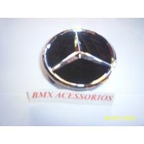 Calota Miolo Da Roda Mercedes Classe A/b/c/e/s Preta
