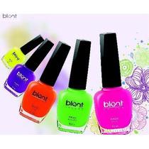5 Esmaltes Blant: Coleção Neon * Brilham Na Luz Negra *
