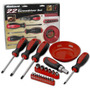 Kit Ferramentas Profissional Conjunto 22pç Chave Magnetizada