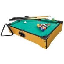 Mini Mesa De Sinuca Bilhar Snooker Set Pool Table