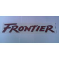 Emblema Adesivo Frontier - Mmf Auto Parts.