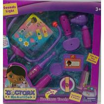 Kit Medico Doutora Brinquedos Doctors Tools 08 Peças