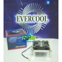 Cooler Ventilador Nw11 Evercool P/ Processador P4 Socket 478