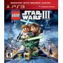 Lego Star Wars 3 Iii The Clone Wars Frete Grátis