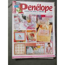Revista Espanhola - Penélope. Punto De Cruz Y Labores