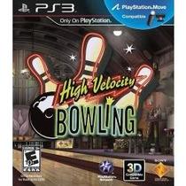Jogo Compativel Move High Velocity Bowling 3d Playstation 3