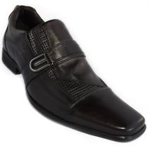 Sapato Casual Couro Legitimo Marrom Rafarillo 3009
