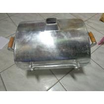Churasqueira Em Aluminio Tipo Bafo