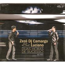 Cd Zezé Di Camargo & Luciano - Ao Vivo - Novo Lacrado***