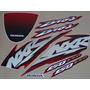 Kit Adesivos Honda Nxr150 Esd Bros 2004 Vermelha - Decalx