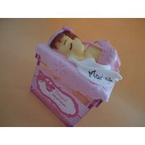 10 Lembrancinha De Nascimento Chá De Bebê- Caixa De Acrílico