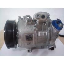 Compressor De Ar Vw Polo Climatronic Denso Variável Original